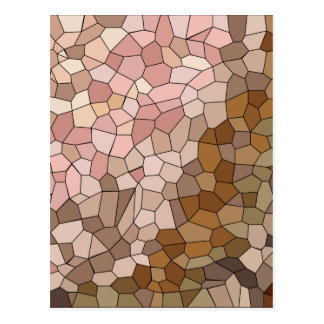 Skin Tone Mosaic Postcard