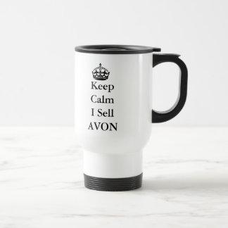 "Skincare Lovers: ""Keep Calm I Sell AVON"" Coffee Mug"