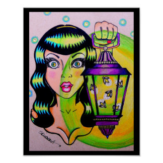 "Skinderella's ""Miss Firefly"" print"
