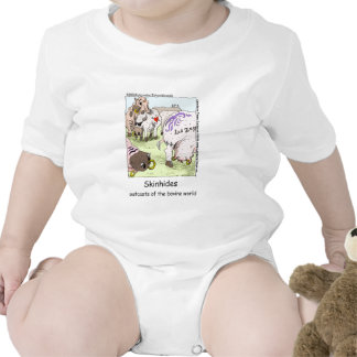SkinHides Cow Outcasts Funny Tees Mugs Etc Bodysuits