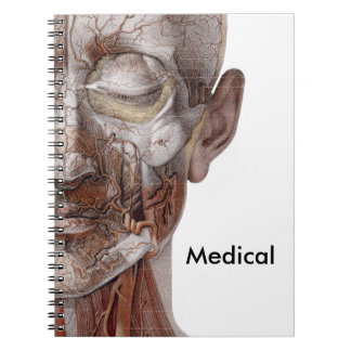 Skinless Face Spiral Notebook