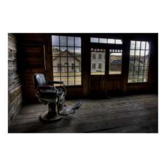 Skinner's Saloon - Bannack Ghost Town Poster