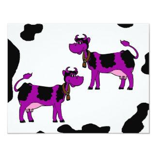 Skinney Cows Custom Invitation