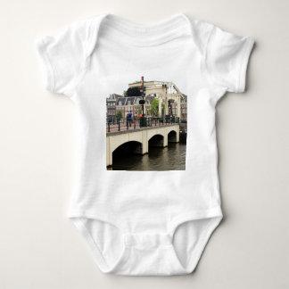 Skinny Bridge, Amsterdam, Holland Baby Bodysuit