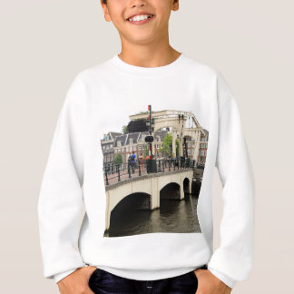 Skinny Bridge, Amsterdam, Holland Sweatshirt