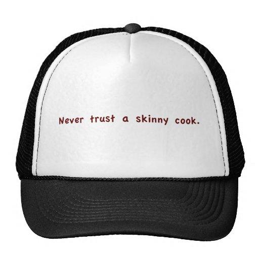 Skinny Cook Mesh Hats