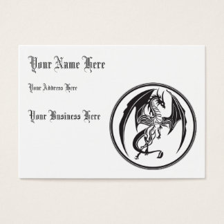 Skinny dragons business card