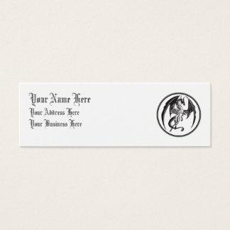 Skinny dragons mini business card