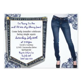 Skinny Jeans Divorce / Breakup Party Invitations