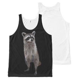 Skinny Raccoon Tank