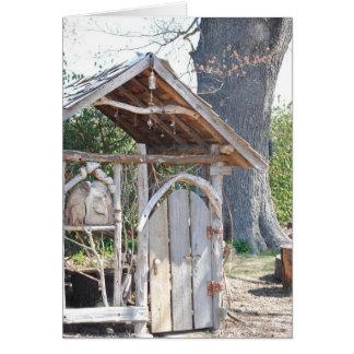 skinny shack greeting card