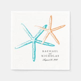 Skinny Starfish   Wedding Disposable Napkins