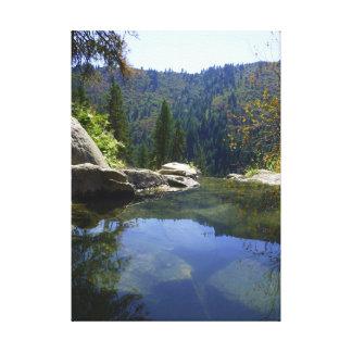 Skinnydipper Hot Springs, Idaho Canvas Print