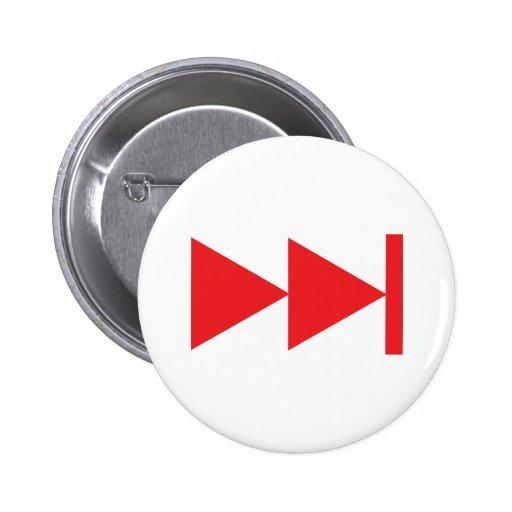 Skip Key Pinback Button