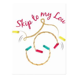 Skip Rope Postcard