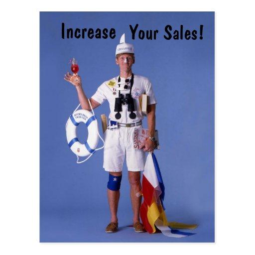 Skip Sayles™_Increase Your Sales! postcard