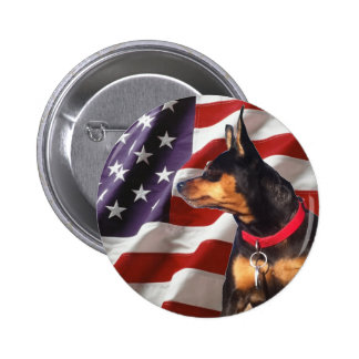 Skip the Election Dog Pin