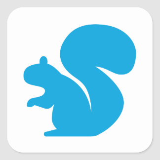Skip the Squirrel Sticker