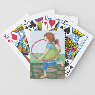 Skip To My Loo Designer Bicycle Playing Cards