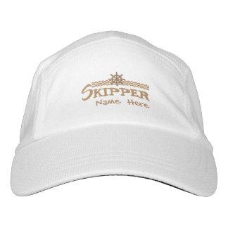 Skipper Boat Cap Personalized