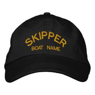 Skipper & Boat Name Sailors Hat