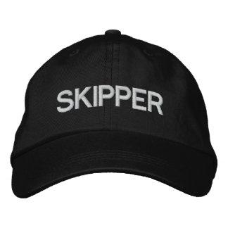 Skipper Embroidered Baseball Caps