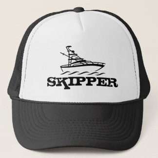 Skipper hat for boating enthusiasts