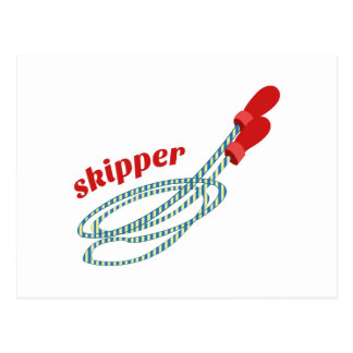 Skipper Postcard