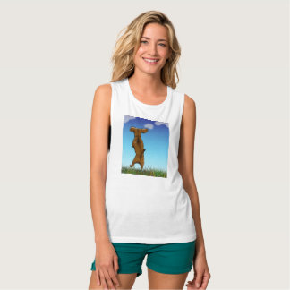 Skipping Doxie Tank Top