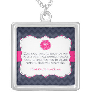Skipping Stones by J.B. McGee Necklace