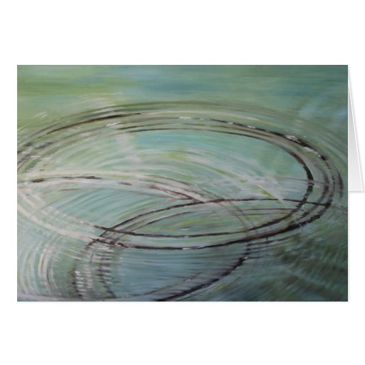 """""""Skipping Stones"""" Greeting Cards"""