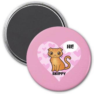 Skippy's Round Magnet