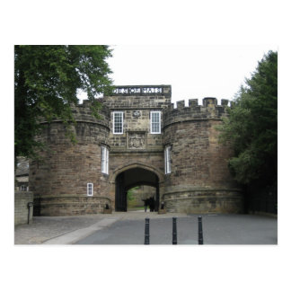 Skipton Castle, Yorkshire Postcard