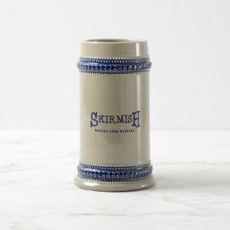 SKIRMISH Blue Logo Beer Steins