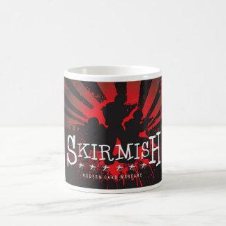 SKIRMISH Red Troop Logo Coffee Mug
