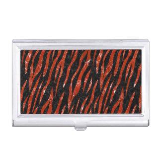 SKN3 BK-RD MARBLE BUSINESS CARD CASES