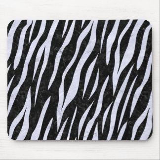 SKN3 BK-WH MARBLE MOUSE PAD