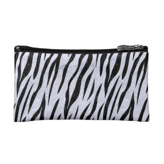 SKN3 BK-WH MARBLE (R) COSMETIC BAGS