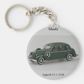 Skoda Superb 913 1938 Keychain