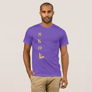 """SKOL with Muscle Arm & Fist for """"L"""" T-shirt"""