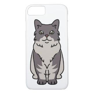 Skookum Cat Cartoon iPhone 7 Case