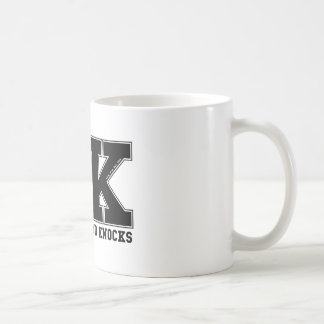 SKOOL OF HARD KNOCKS_black Coffee Mug