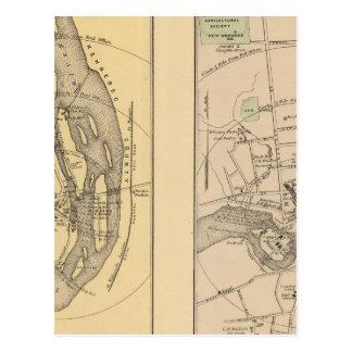 Skowhegan, Fairfield Postcard