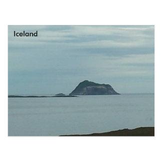 Skrúður Island, Iceland Postcard