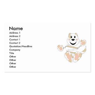 Skrunchkin Cat Elliot Business Card Template
