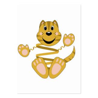 Skrunchkin Cat Toby Business Card Template