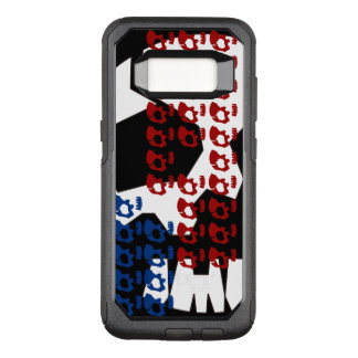 SKULETONS BHQ Remix OtterBox Commuter Samsung Galaxy S8 Case