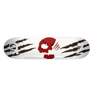SKULETONS SKULL HEAD w/ Bear Claws Skate Board Deck