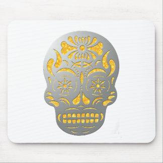 Skull1MetalFire Mouse Pad