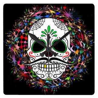 Skull20170396 Clock